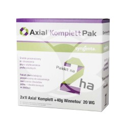 Axial Komplett Pak - Axial 50 EC 2 x 1L + Winnetou 20 WG 40G