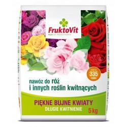 Fruktovit Plus do róż i innych roślin kwitnących  5KG